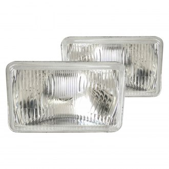 Race Sport® - Rectangular Factory Style Sealed Beam Headlights