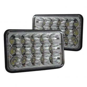 Race Sport® - Rectangular Sealed Beam LED Headlights