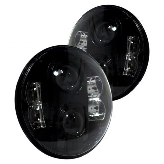 Race Sport® - Round Sealed Beam Projector Headlights