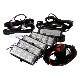 Race Sport® - Grille LED Strobe Light Kit