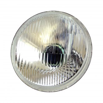 "Race Sport® - 5 3/4"" Round Chrome Factory Style Composite Headlight"