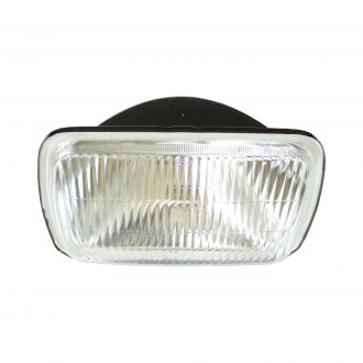 "Race Sport® - 7x6"" Rectangular Chrome Factory style Composite Headlight"