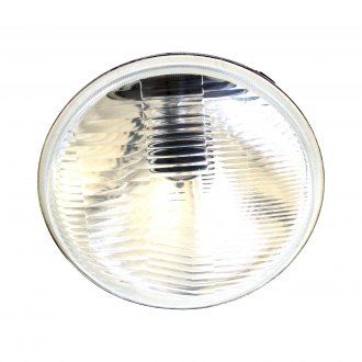 "Race Sport® - 7"" Round Chrome Factory Style Composite Headlight"