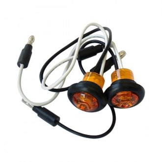 Race Sport® - Round LED Side Marker Lights