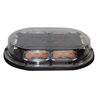 "Race Sport® - Heavy Duty 19 x 8"" Professional Series Permanent Mount Mini LED Beacon Light Bar"