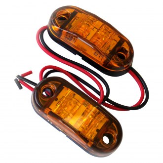 "Race Sport® - 2.5 ""x 1"" Rectangular LED Side Marker Lights"