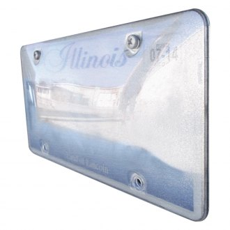Race Sport® - Reflector License Plate Cover