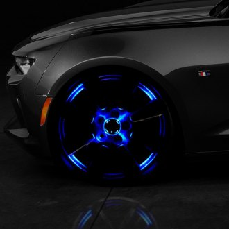 Race Sport® - Solar Multi-Color Multicolor LED Wheel Light