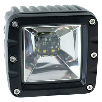 Race Sport® - Square Black LED Backup/Brake Light