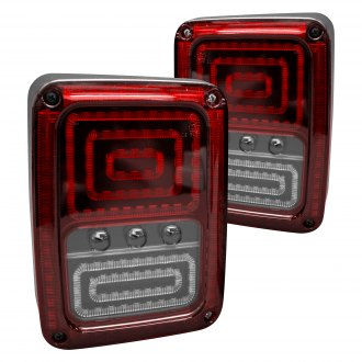 Race Sport® - Black LED Tail Lights