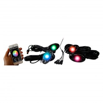 Race Sport® - ColorSMART Multicolor LED Rock Light Kit