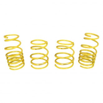 "Racecomp Engineering® - 0.8"" x 0.9"" Super Sport Front and Rear Street/Track Lowering Coil Spring Kit"