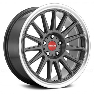 RACELINE® - 315 GRIP Gunmetal with Machined Lip
