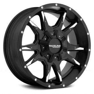 RACELINE® - 912M COBRA Black with Machined Accents