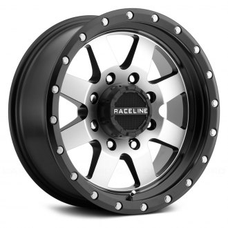RACELINE® - 935M DEFENDER Black with Machined Face