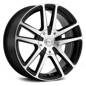 RACELINE® - 145M ENCORE Black with Machined Face