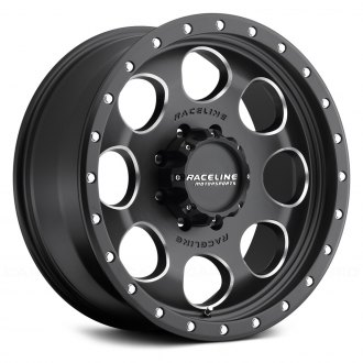 RACELINE® - 925M HAVOC Black with Machined Accents