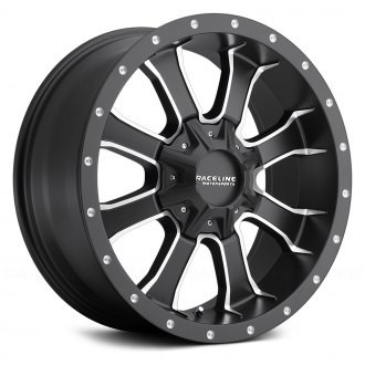 RACELINE® - MAMBA Black with Machined Accents