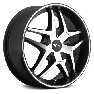 RACELINE® - 192M MONTAGE Black with Machined Face