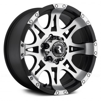 RACELINE® - RAPTOR Black with Machined Face