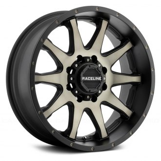 RACELINE® - SHIFT Black with Machined Face and Dark Tint
