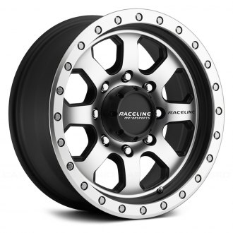 RACELINE® - 929M SL AVENGER Black with Machined Face