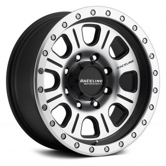 RACELINE® - 928M SL MONSTER Black with Machined Face