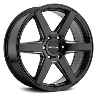 RACELINE® - 156B SURGE Black with Machined Accents