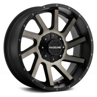 RACELINE® - 932DM TWIST Black with Machined Face and Dark Tint