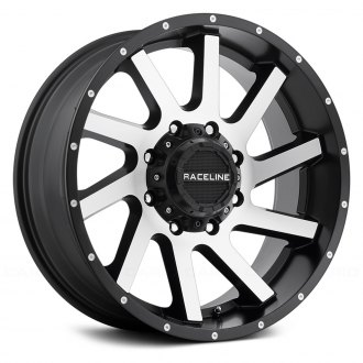 RACELINE® - 932M TWIST Black with Machined Face