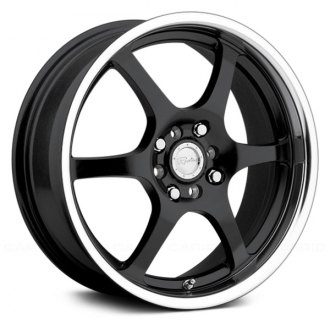 RACELINE® - TYPE 126 Black with Machined Lip
