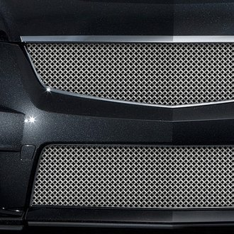 RaceMesh® - Gothic Weave Silver Leopard Mesh Grille