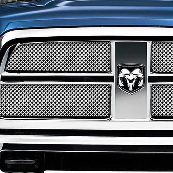 RaceMesh® - Gothic Weave Electro Polished Mesh Grille