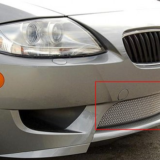 RaceMesh® - Standard Weave Electro Polished Mesh Bumper Grille