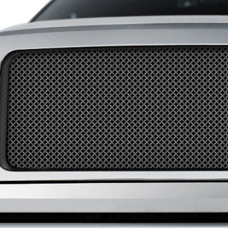 RaceMesh® - Gothic Weave Black Wrinkle Mesh Grille