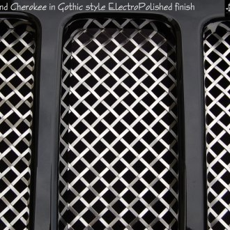 RaceMesh® - Gothic Style Mesh Grille