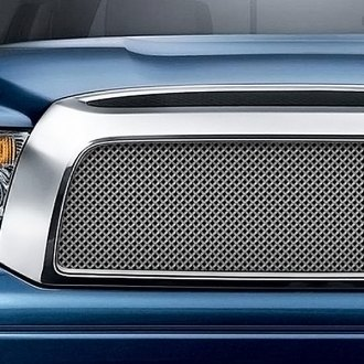 RaceMesh® - Gothic Weave Black Chrome Mesh Grille