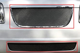 RaceMesh® - Standard Weave Mesh Replacement Satin Stainless Main and Bumper Grille Kit