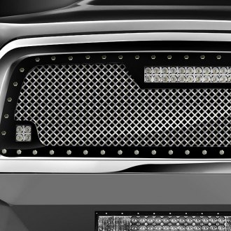 RaceMesh® - Trucks™ LED Version Gothic Style Mesh Grille