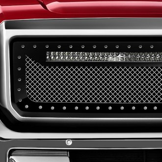 RaceMesh® - Trucks™ LED Version Standard Weave Style Mesh Grille