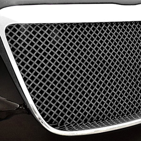 RaceMesh® - 2-Pc Standard Weave Chrome Mesh Main Kidney Grilles
