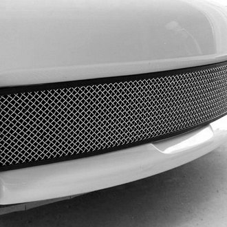 RaceMesh® - 1-Pc Standard Weave Satin Stainless Mesh Bumper Grille