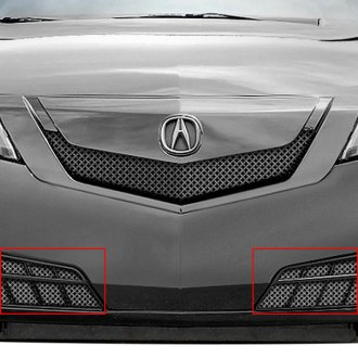 RaceMesh® - 2-Pc Gothic Style Electro Polished Mesh Bumper Grille