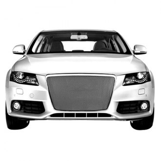RaceMesh® - 1-Pc Standard Weave Chrome Mesh Grille