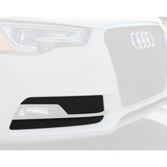 RaceMesh® - 2-Pc Standard Weave Electro Polished Mesh Fog Light Grilles
