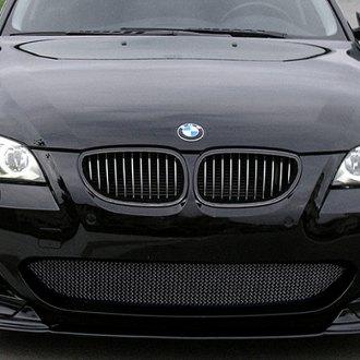 BMW Series Custom Grilles Billet Mesh LED Chrome Black - 2008 bmw 530xi