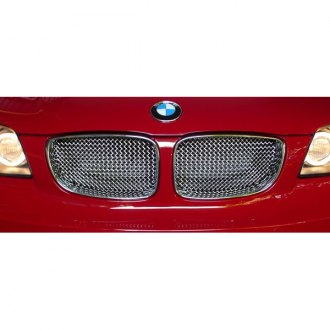 RaceMesh® - 3-Pc Standard Weave Chrome Mesh Grille