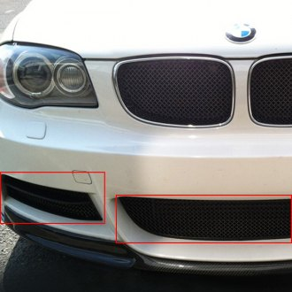 RaceMesh® - 1-Pc Standard Weave Electro Polished Mesh Bumper Grille