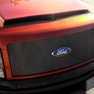 RaceMesh® - 2-Pc Gothic Style Mesh Grille