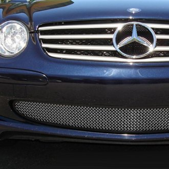 2003 Mercedes SL Class Custom Grilles | Billet, Mesh, LED, Chrome, Black